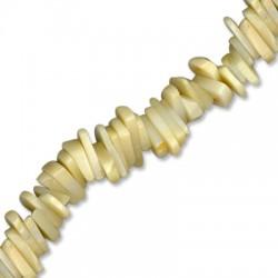 Κοράλι Μπαμπού Χάντρα Τσιπς Ακανόνιστο 10mm (~74τμχ/κορδόνι)