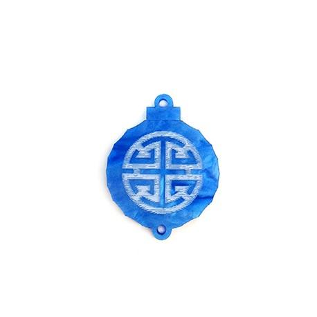 Pendentif Lanterne en Plexiacrylique 27x29mm