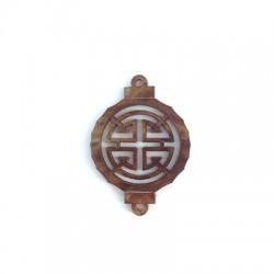 Ciondolo in Plexiacrilico Lanterna Orientale 27x29mm
