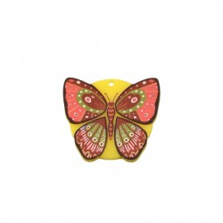 Pendentif Papillon en Plexiacrylique 30x26mm