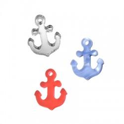 Plexi Acrylic Charm Anchor 13x16mm