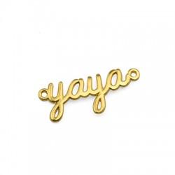 """Brass Connector """"Yaya"""" for Macrame 26x10mm"""