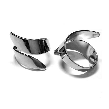 Brass Finger Ring 20x15mm