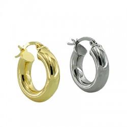 Brass Earring Hoop 21mm/5.3mm