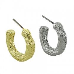 Brass Earring Hoop 20mm