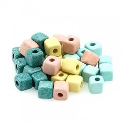 Ceramic Slider Cube 6.5mm (Ø2.1mm)