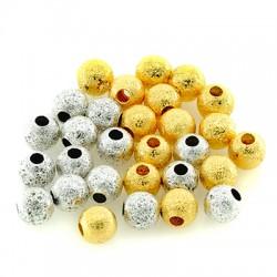 Brass Bead 6mm (Ø2mm)