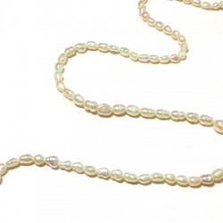 Fresh water pearl ball irregular 4mm