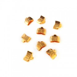 Brass Eco Terminal 7x4mm (Ø 6.2x2.5mm)