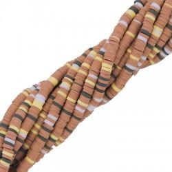 Ροδέλα Πολυμερικού Πηλού (~4mm) (~324τμχ/κορδόνι)