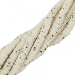 Ροδέλα Πολυμερικού Πηλού (~6mm) (~293τμχ/κορδόνι)