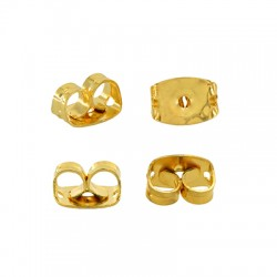 Brass Earring Back Safety 6x3mm