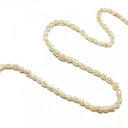 Perla d' Acqua Dolce Irregolare 3mm (~80pz)