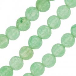 Mountain Jade Bead Round 4mm (~92pcs/string)