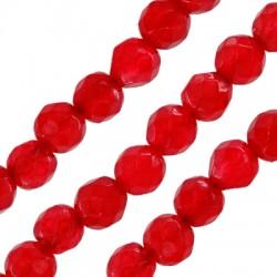Perlina Sfaccettata di Giada 4mm (~92pz/filo)