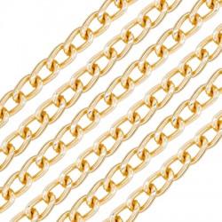 Aluminium Chain 4.3x7mm/1.1mm
