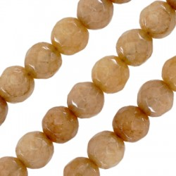 Mountain Jade Bead Round Faceted 4mm (~92pcs/string)