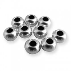 Brass Bead Ball 6x3.9mm (Ø2.8mm)