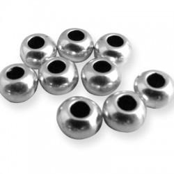 Brass Bead Ball 7x5.2mm (Ø3.7mm)