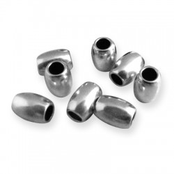 Brass Oval Tube 5x6.5mm (Ø2.6mm)