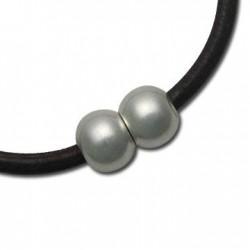 Brass Ball Magnetic Clasp 10x8mm (Ø 4mm)