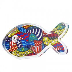 Πλέξι Ακρυλικό Επιτραπέζιο Ψάρι 121x57mm