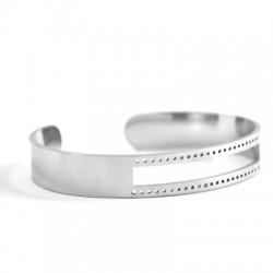 Stainless Steel 316 Cuff Bracelet 10x58mm