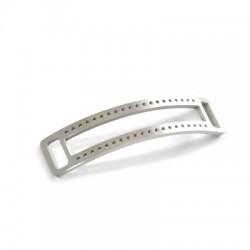 Stainless Steel 316 Half Bracelet 12x10mm