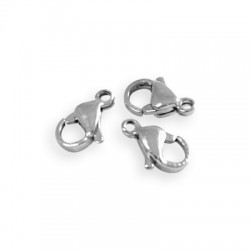 Stainless Steel 304 Lobster Clasp 11mm (Ø1.4mm)