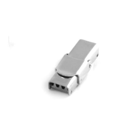 Chiusura a Clip in Acciaio Inox (Ø 7x3mm)