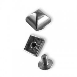 Μεταλλικό Τρουκ Τετράγωνο Σετ 10mm