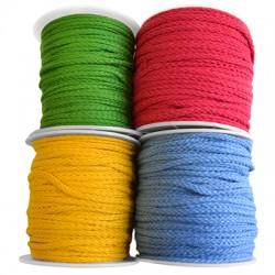 Cotton Braided Cord Round 5mm