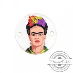 Πλέξι Ακρυλικό Στοιχείο Frida Kahlo για Μακραμέ 20mm