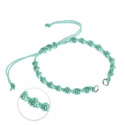 Macrame Bracelet DNA w/ 2 Loops