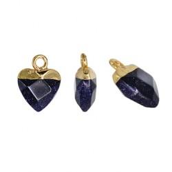 Ημιπολύτιμη Πέτρα Χρυσόλιθος Μοτίφ Καρδιά 10mm