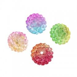 Acrylic Bead Round Berry 15mm