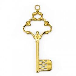 Mεταλλικό Ζάμακ Χυτό Μοτίφ Κλειδί 55x130mm