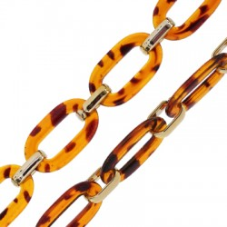Acrylic Chain 21x37mm and 12x19mm