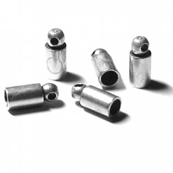 Brass End Cup 6x8mm (Ø5mm)