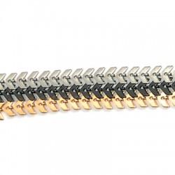 Μεταλλική Μπρούτζινη Αλυσίδα Ψαροκόκκαλο Βέλος 6mm/0.6mm