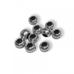 Brass Bead Ball 7x5.1mm (Ø3.7mm)