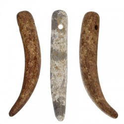 Ceramic Pendant Tooth 73x27mm (Ø2mm)