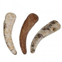 Ceramic Pendant Tooth 45x15mm (Ø~2mm)