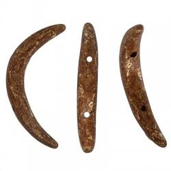 Ceramic Slider Tooth w/ 2 Holes 45x15mm (Ø2mm)