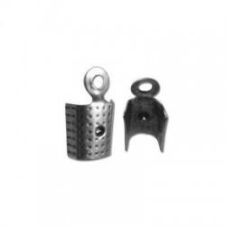 Μεταλλικό Μπρούτζινο Ακροδέκτης Τελείωμα Κούμπωμα 3mm