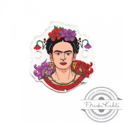 Πλέξι Ακρυλικό Στοιχείο Frida Kahlo για Μακραμέ 18x20mm