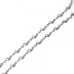 Stainless Steel 304 Chain Wave 3mm