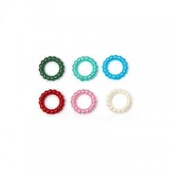Συνθετική Πέρλα Κύκλος Περίγραμμα 10mm