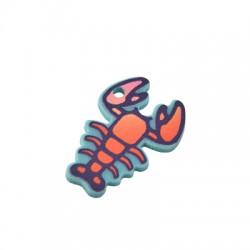 Plexi Acrylic Charm Lobster 19x26mm