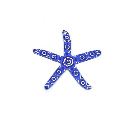Πλέξι Ακρυλικό Μοτίφ Αστερίας 60x58mm